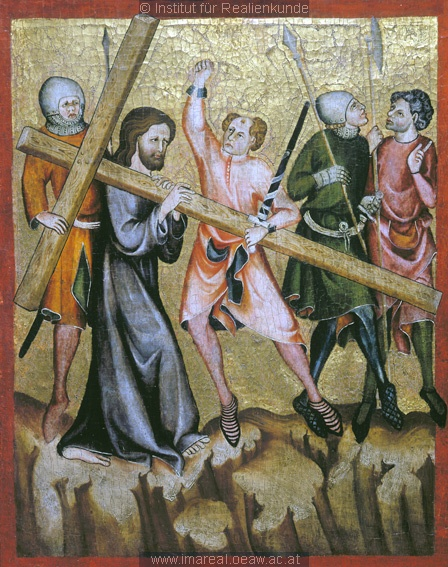 Christ Carrying the Cross, 1335-1340, Master of the Verdun Altar, Vienna