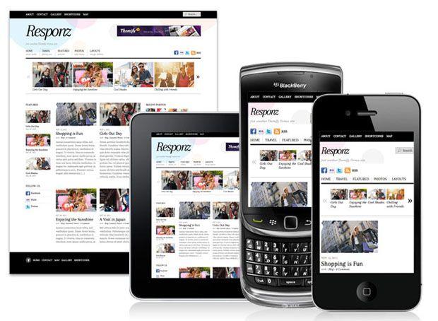 responsive web design gallery
