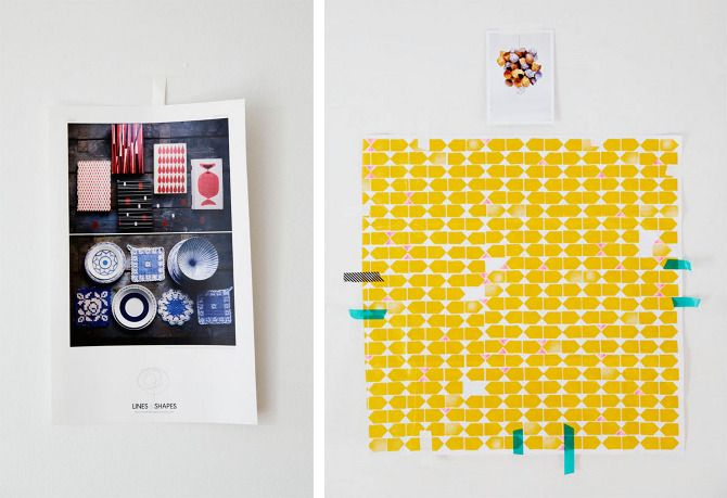 yellow and turquoise : Graphic Design, Themakers Jennifercausey, Color, Causey Triangle, Lenacorwin Themakers