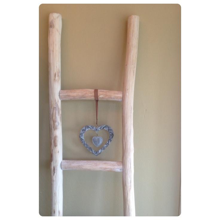 Decoratieve ladder voor keuken of badkamer (voor handdoeken en ander leuks) | Pomax | 1.80x0.35 | EUR 59,95