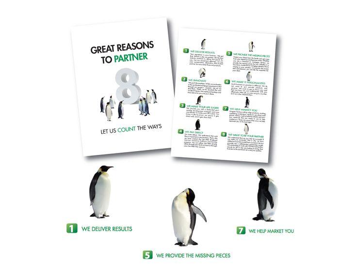 Penguin Series Communication Material Design