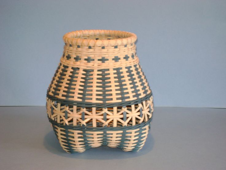 Open Weave Cat's Head Basket