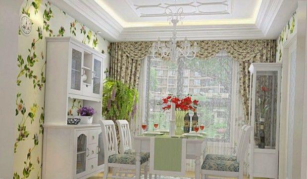 Уютная столовая в стиле прованс