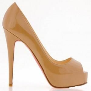 Купить лакированные туфли телесного цвета