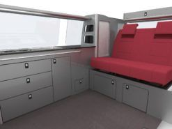 VW T5 T6 Camper Van Conversion Furniture
