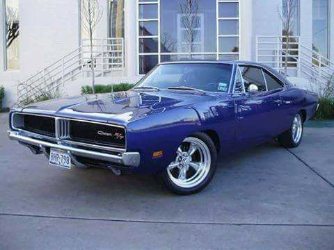 1969 Dodge Charger R/T street-rod.
