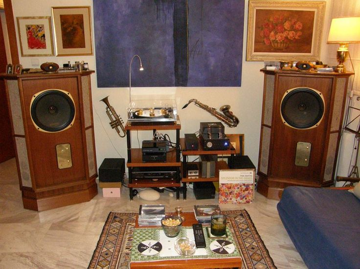 Very nice vintage setup with TANNOY speakers. | Hi-Fi ...