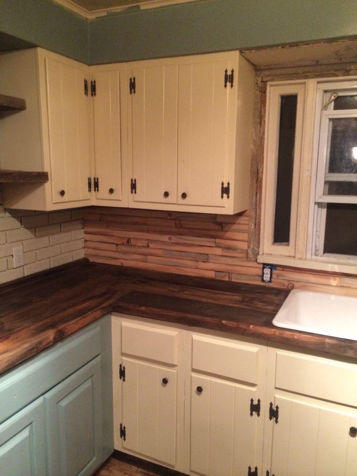 barn wood counters and backsplash board pinterest barns woods