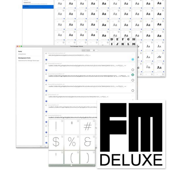 Font Manager Deluxe is a new font installer/previewer for macOS