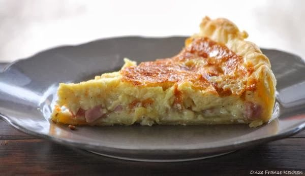Onze Franse Keuken: Quiche Lorraine