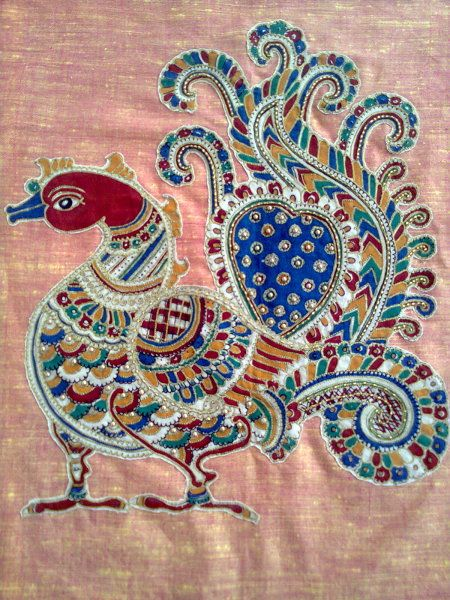 Kalamkari patchwork -  Added by Prithvi