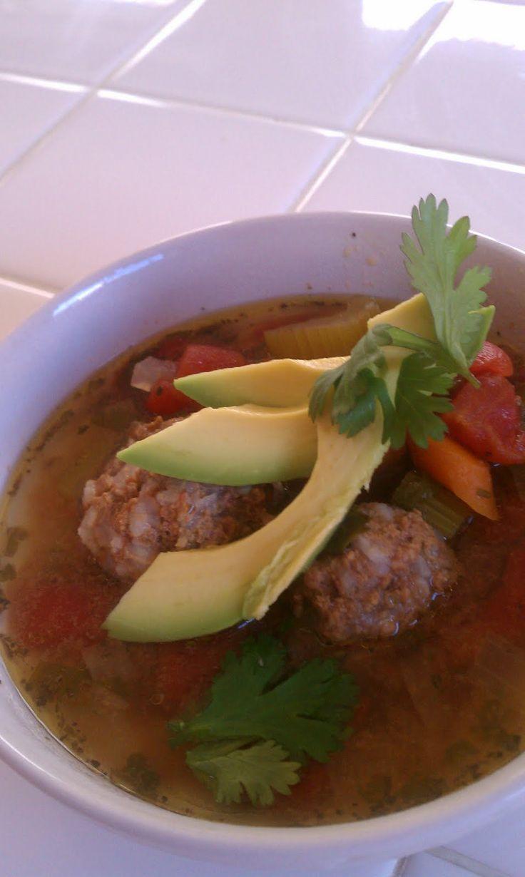 Easy crock pot Albondigas soup | Two Boys and A Lady
