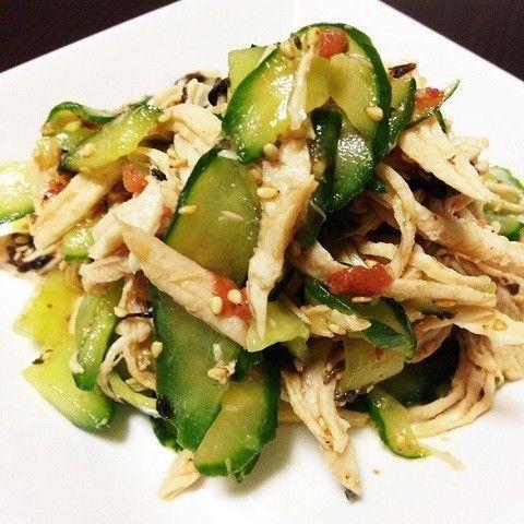 食欲がなくなるこの時期。鶏むねと今が美味しいきゅうりを使って、冷たい副菜を作ってみませんか?