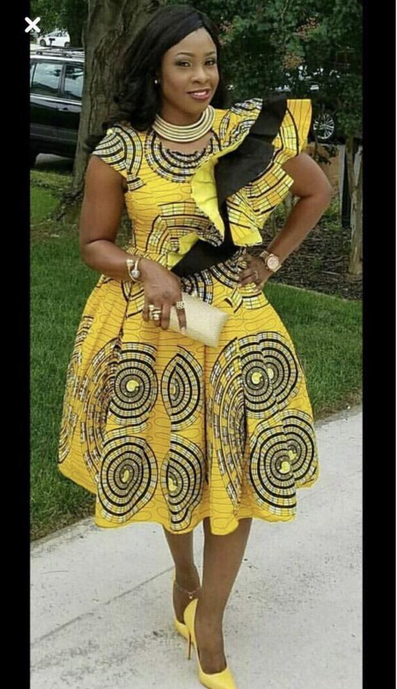 Femmes africaines, vêtements pour mariage africaine imprimer gown pour les vêtements de bal africaine pour les femmes / gown de mariée Ankara / africaine gown event