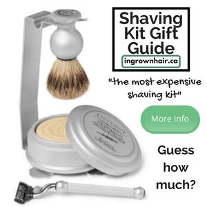 """""""This Czech & Speake kit has been made in England using weighty silver metal and contains everything you need for a stylish shave."""""""