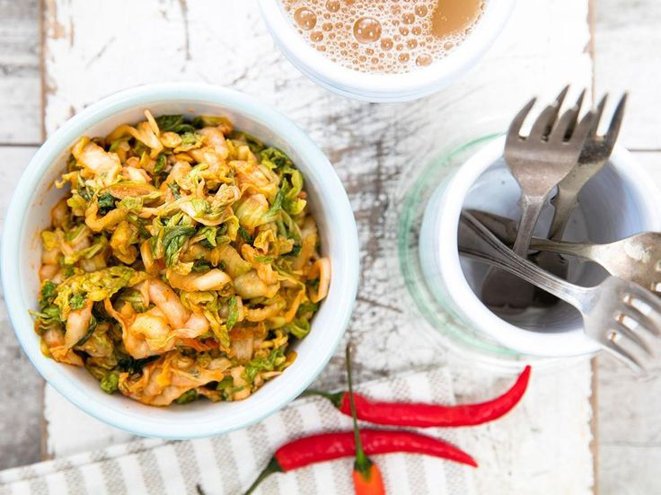 Kimchi Recipe - Viva