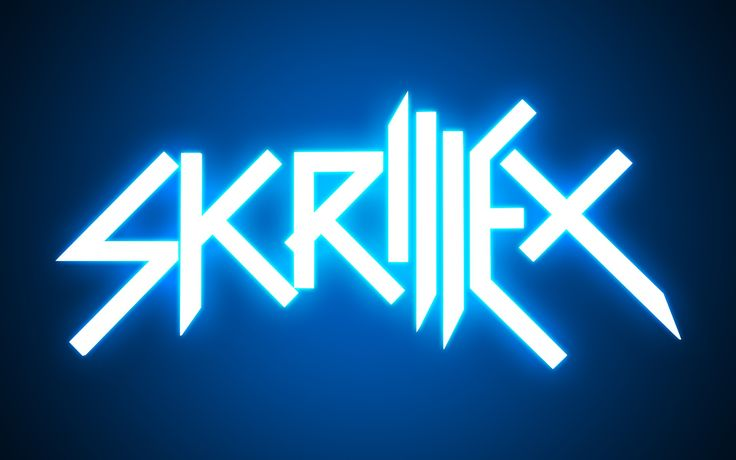 Skrillex Logo Lights Free Download Music HD Desktop Background Widescreen