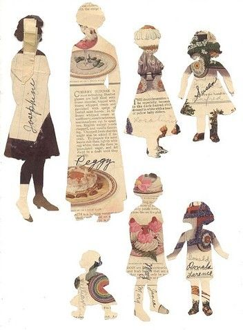 Fashion Link: Templates and paper dolls