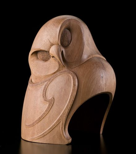 Te ruru new zealand owl by todd couper māori artist