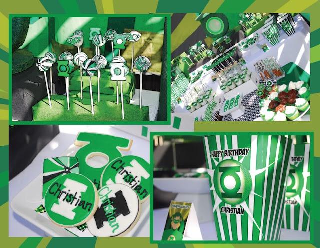 Green Lantern Party