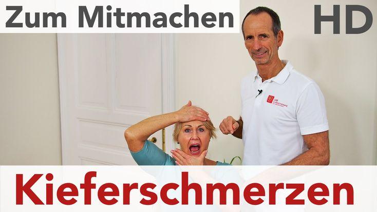 Kieferschmerzen // Ursachen, Übungen mit der Faszienrolle, Übungen, Kief...