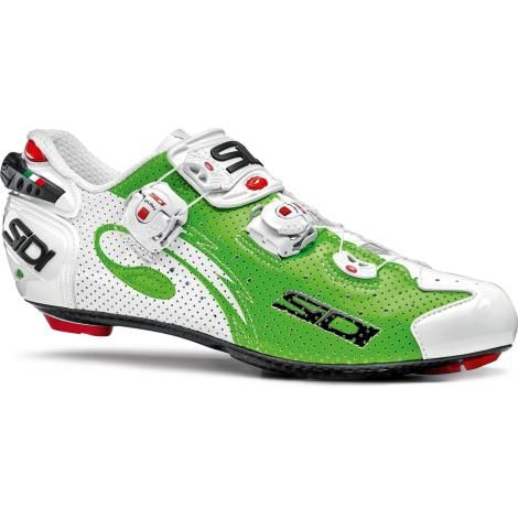 SiDi Wire Carbon Air Vernice Road Cycling Shoe - Green / White / EU39.5  #CyclingBargains #DealFinder #Bike #BikeBargains #Fitness Visit our web site to find the best Cycling Bargains from over 450,000 searchable products from all the top Stores, we are also on Facebook, Twitter & have an App on the Google Android, Apple & Amazon PlayStores.