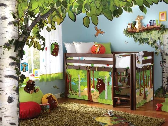 What a cool childs room.