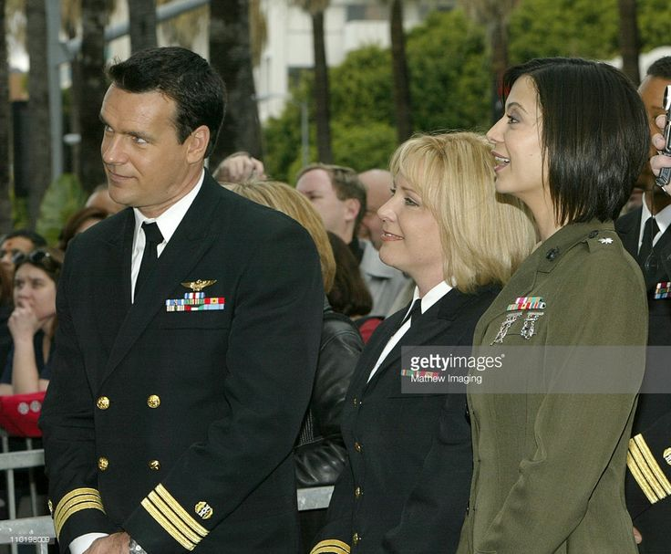 David James Elliott, Karri Turner and Catherine Bell