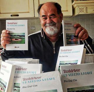 """Dopo trent'anni esce dal cassetto un progetto. Il mio primo libro autobiografico """"Taxidriver un Veneto a Miami"""". Il libro verrà presentato sabato 12 dicembre nell'Aula Magna della biblioteca comuna..."""