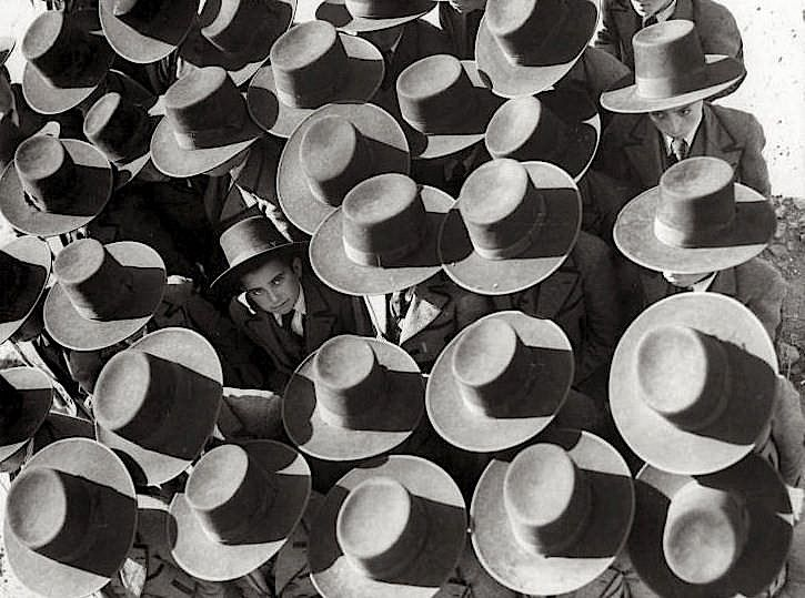 Unknown Photographer - The first day of school, Portugal, 1936