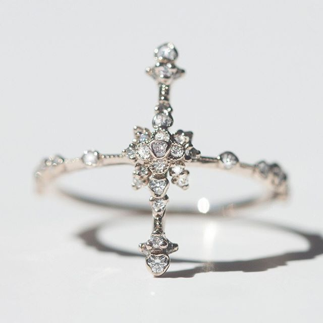 Introducing the Japanese Orchid Ring, or as we fondly call her: the tall one. New Kataoka rings to break your heart.