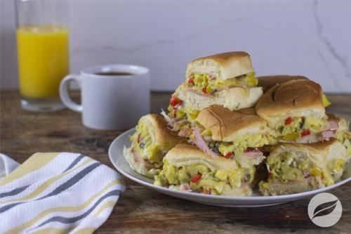 Western Egg Sandwiches - Wildtree Recipes