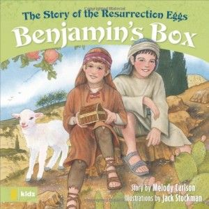 Love this book to use with resurrection eggs at Easter!