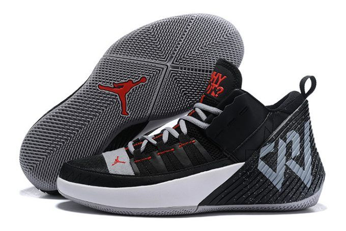 Buy Jordan Why Not Zer0 1 Chaos Black Grey University Red White 1