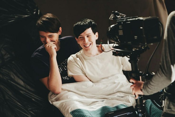 """D&P in YouTube rewind 2015... cause """"just friends"""" totally cuddle, right? Yeah that's a thing."""