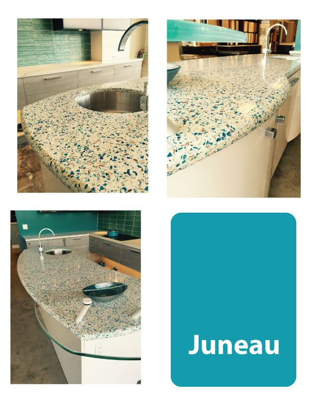 Geos Recycled Glass Surface In Juneau Geos Photos