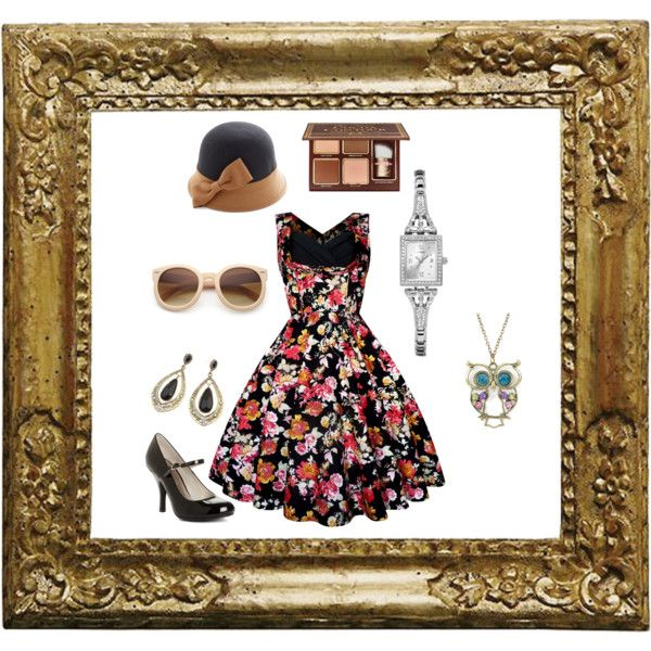 retro style2 by elenilor on Polyvore featuring Chinese Laundry and GUESS