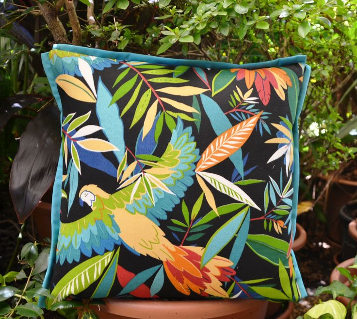 Tucuman  - jungle birds in flight , available on Etsy - Julie Alves Designs