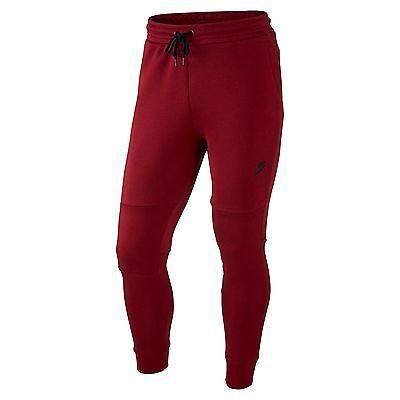 Red Nike Tech Fleece Pants September 2017