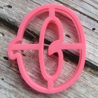 """Cookie cutter """" Number 0"""" 10 cm"""