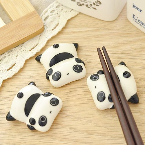 Tare Panda Chopstick Holder