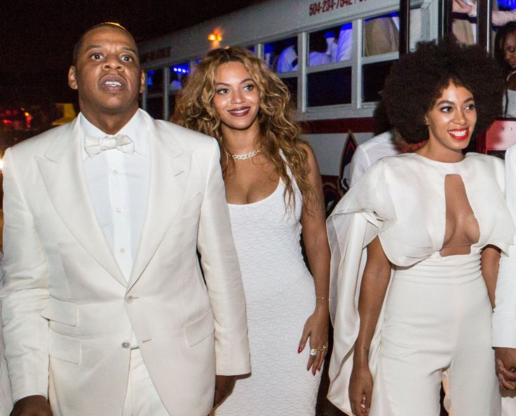 """A mere one minute and 30 seconds into Jay-Z's new album 4:44, Hov addresses what fans have been obsessively speculating about since Beyoncé released Lemonade last year. On the opening track """"Kill Jay Z,"""" he raps in the third person: You egg Solange on knowing all along all you had to say was you was wrong / You almost went Eric Benet let the baddest girl in the world get away / I don't even know what to say, nigga never go Eric Benet."""