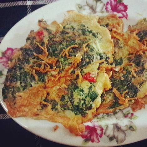 Omelette Daun Singkong