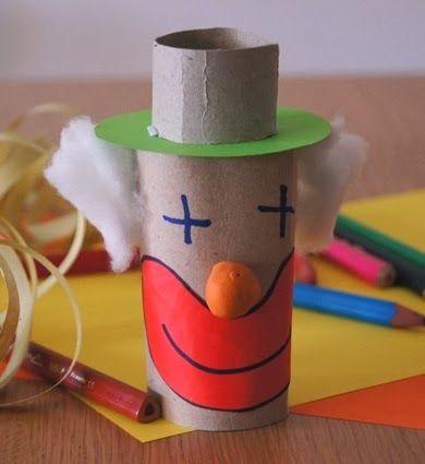 Lavoretti di Carnevale per bambini: il pagliaccio