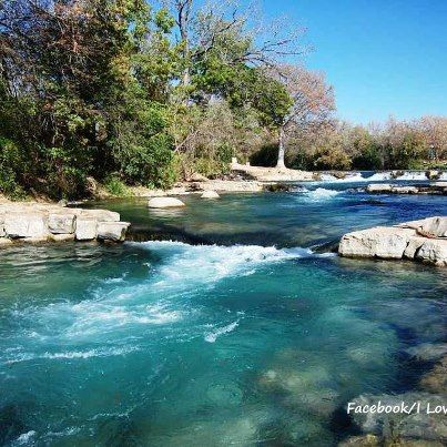 San Marcos River--Right down the street from my Mom's house! Beautiful