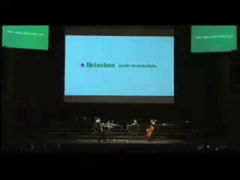 Awesome Heineken PR stunt: Classical music concert held at the same time as AC Milan match and over 1000 tricked into attending.  Watch what happens!