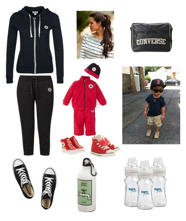 """""""Mother Like Son Converse Tracksuit!"""" by michaeljjacksonlover ❤ liked on Polyvore featuring Converse"""