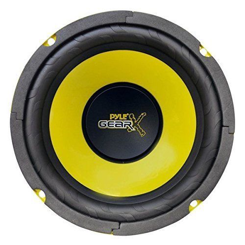 6.5 Inch Mid Bass Woofer Sound Speaker System Pro Loud Range Audio 300-Watt 4Ohm #Pyle