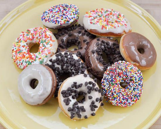 donut maker recipe, cake mix doughnuts, quick and easy dessert, sweet rolls, buns and cakes, cake mix flavour doughnuts