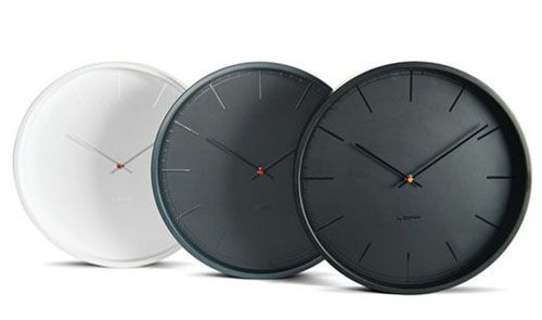 Tone35 clock by Dutch designer Wiebe Teertstra for LEFF Amsterdam. Nice.